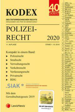 KODEX Polizeirecht 2020