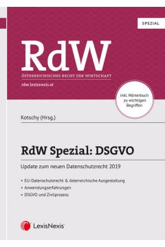 RdW Spezial: DSGVO