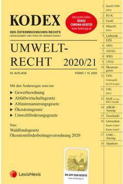 KODEX Umweltrecht 2020/21
