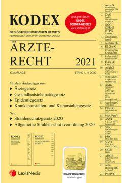 KODEX Ärzterecht 2021