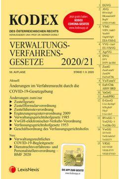 KODEX Verwaltungsverfahrensgesetze (AVG) 2020/21