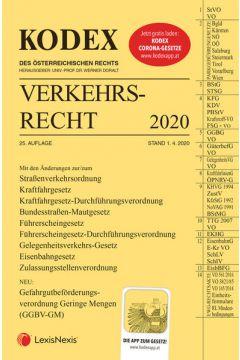 KODEX Verkehrsrecht 2020
