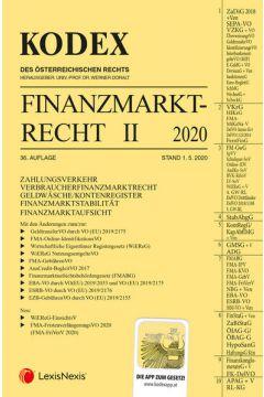 KODEX Finanzmarktrecht Band II 2020