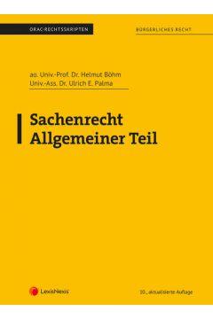 Sachenrecht Allgemeiner Teil (Skriptum)