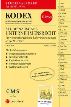 KODEX Unternehmensrecht für wirtschaftsrechtliche LVA 2020/21