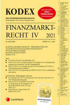 KODEX Finanzmarktrecht Band IV 2021