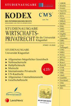 KODEX Wirtschaftsprivatrecht Klagenfurt