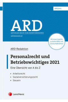 Personalrecht und Betriebswichtiges 2021