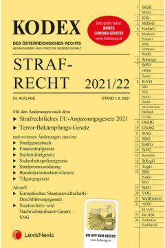 KODEX Strafrecht 2021/22 - inkl. App