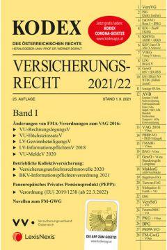 KODEX Versicherungsrecht Band I 2021/22 - inkl. App