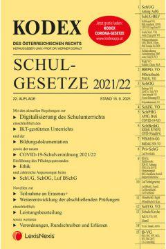 KODEX Schulgesetze 2021/22