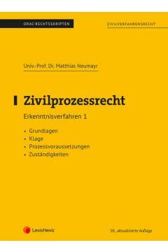 Zivilprozessrecht Erkenntnisverfahren 1 (Skriptum)