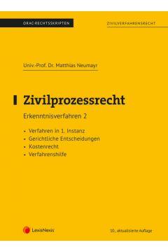 Zivilprozessrecht Erkenntnisverfahren 2 (Skriptum)