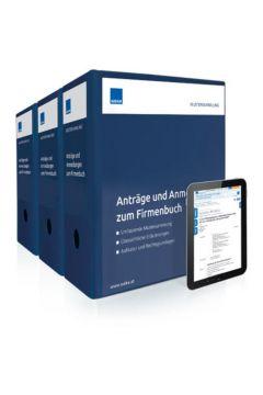 Anträge und Anmeldungen zum Firmenbuch