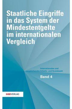 Staatliche Eingriffe in das System der Mindestentgelte im internationalen Vergleich