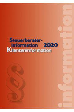 Steuerberaterinformation 2020