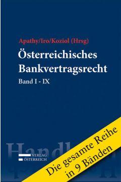 Reihe zum Österreichischen Bankvertragsrecht