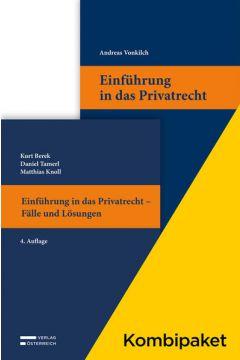 Kombipaket Einführung in das Privatrecht: Lehrbuch und Casebook