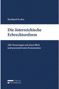 Die österreichische Erbrechtsreform
