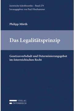 Das Legalitätsprinzip