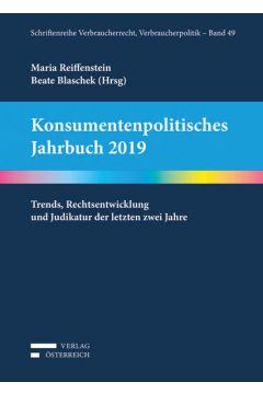 Konsumentenpolitisches Jahrbuch 2019