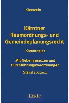 Kärntner Raumordnungs- und Gemeindeplanungsrecht
