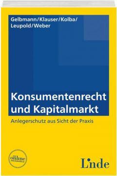 Konsumentenrecht und Kapitalmarkt