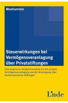 Steuerwirkungen bei Vermögensveranlagung über Privatstiftungen