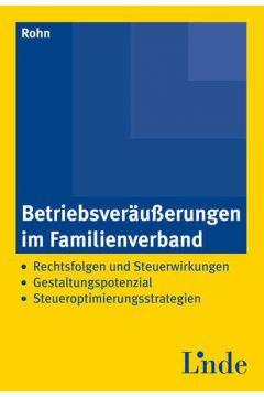 Betriebsveräußerungen im Familienverband