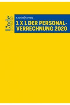 1 x 1 der Personalverrechnung 2020