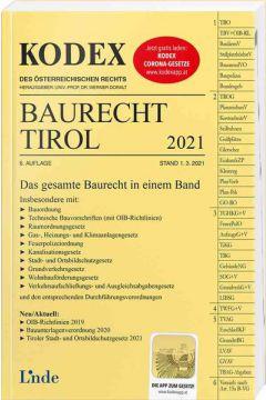 KODEX Baurecht Tirol 2021