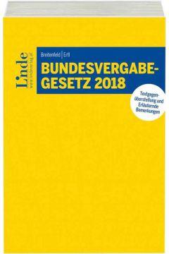 Bundesvergabegesetz 2018