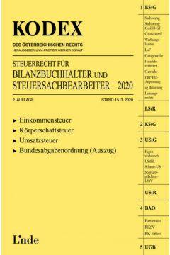 KODEX Steuerrecht für Bilanzbuchhalter und Steuersachbearbeiter 2020