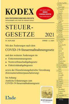 KODEX Steuergesetze 2021