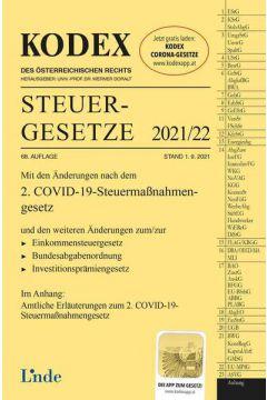 KODEX Steuergesetze 2021/22