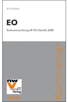 EO – Exekutionsordnung idF EO-Novelle 2008