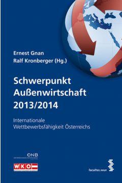 Schwerpunkt Außenwirtschaft 2013/2014