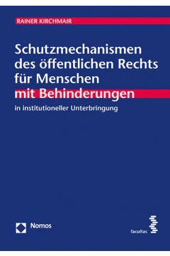 Schutzmechanismen des öffentlichen Rechts
