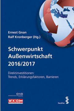 Schwerpunkt Außenwirtschaft 2016/2017