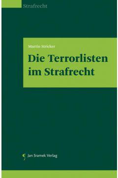 Die Terrorlisten im Strafrecht