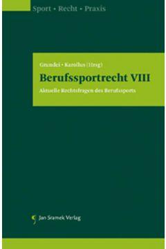 Berufssportrecht VIII