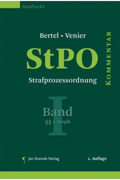 StPO - Strafprozessordnung, Band I