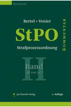 StPO - Strafprozessordnung, Band II