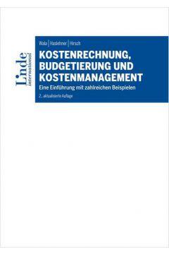 Kostenrechnung, Budgetierung und Kostenmanagement