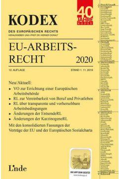 KODEX EU-Arbeitsrecht 2020