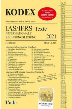 KODEX Internationale Rechnungslegung IAS/IFRS - Texte 2021