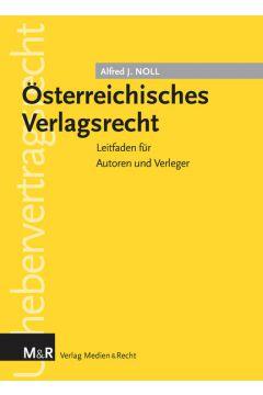 Österreichisches Verlagsrecht