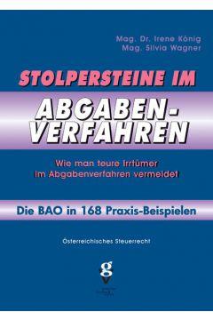 Stolpersteine im ABGABENVERFAHREN