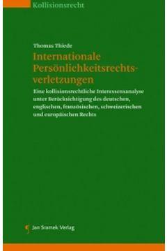 Internationale Persönlichkeitsrechtsverletzungen