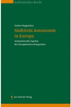 Südtirols Autonomie in Europa